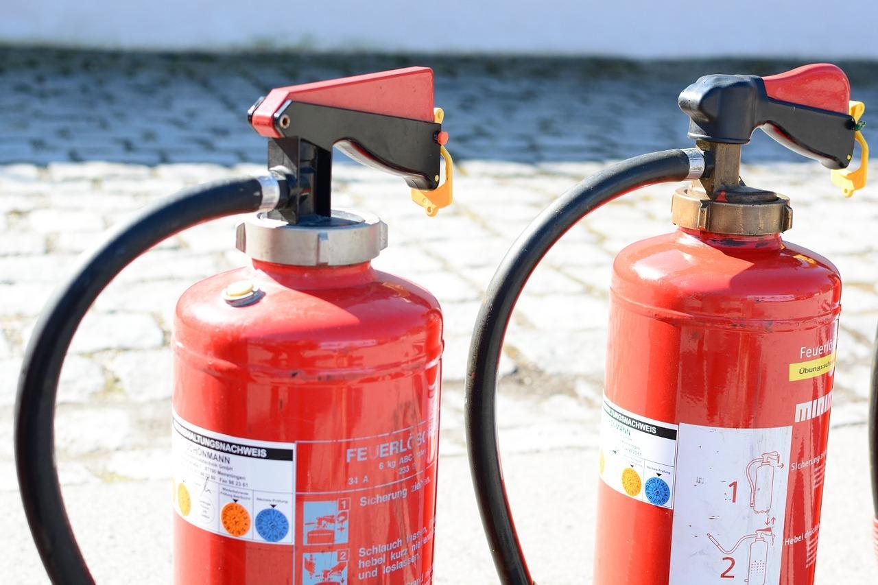 איך מפעילים מטף כיבוי אש